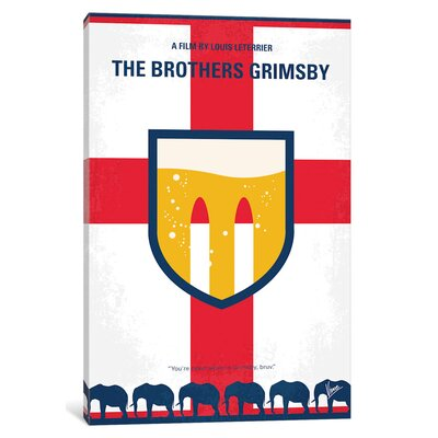 'The Brothers Grimsby' Graphic Art Print on Canvas ESUR5009 37439540