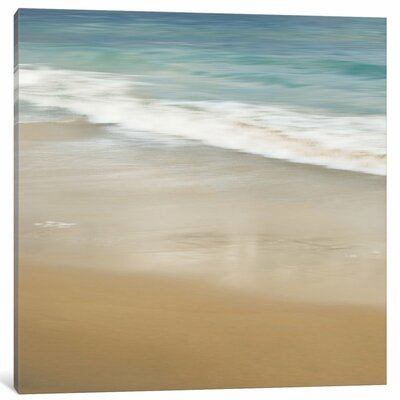 'Surf and Sand I' Photographic Print on Canvas BCHH7274 41784893
