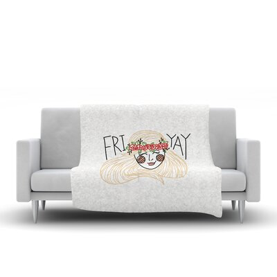 Fri-Yay Throw Blanket Size: 60 L x 50 W