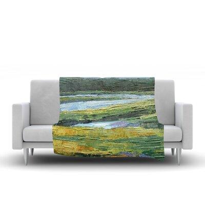 Southern Marsh Throw Blanket Size: 60 L x 50 W