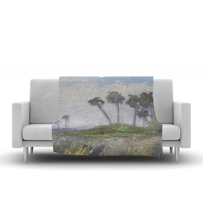 Wetlands Throw Blanket Size: 90 L x 90 W