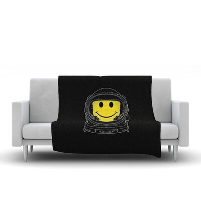 Happiness Throw Blanket Size: 60 L x 50 W