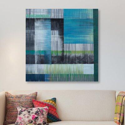 'Vibrations II' Painting Print on Canvas ESUR9552 37482000