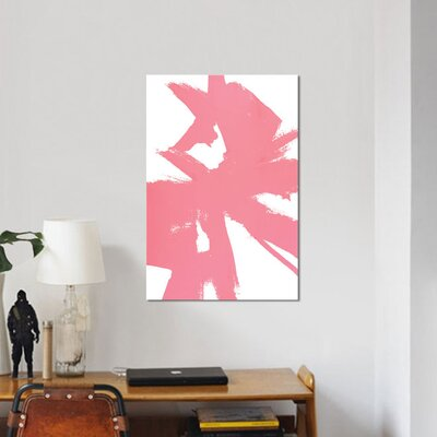 'Abstract Sketch VI' Painting Print on Canvas