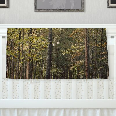 Forest Trees By Sylvia Coomes Fleece Blanket