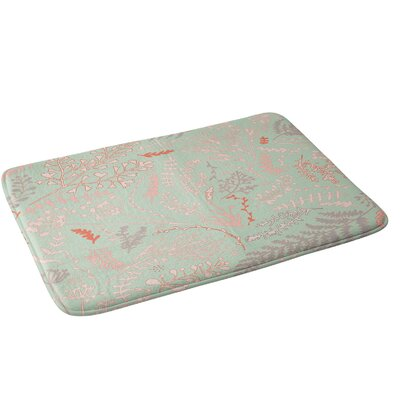 Herbs and Ferns Bath Rug