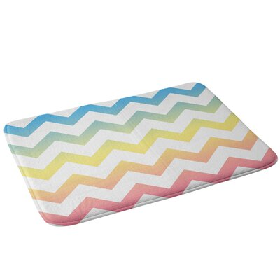 Chevron Bath Rug