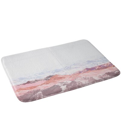 Mountains III Bath Rug