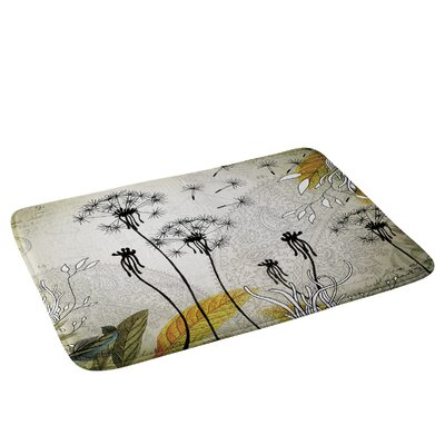 Little Dandelion Bath Rug