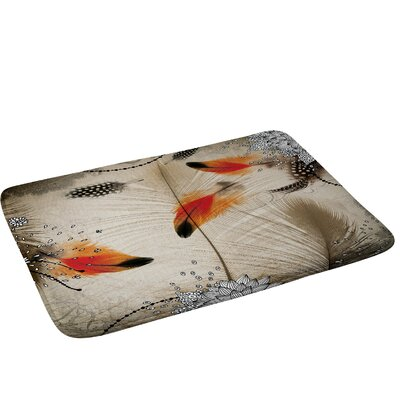 Feather Dance Bath Rug