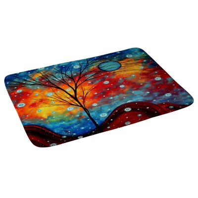 Madart Inc Summer Snow Bath Rug