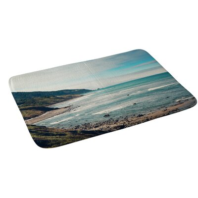 Catherine Mcdonald California Pacific Coast Highway Bath Rug