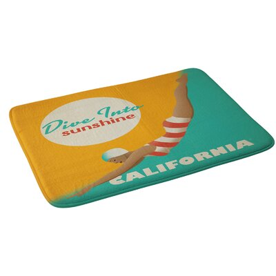 Dive California Bath Rug