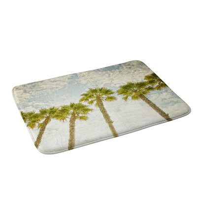Palm Trees Bath Rug