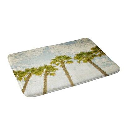 Shannon Clark Palm Trees Bath Rug