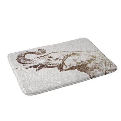 Belle13 The Wisest Elephant Bath Rug