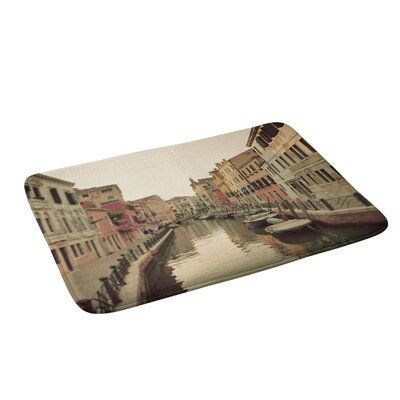 Venice Waterways Bath Rug