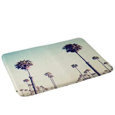 California Palm Trees Bath Rug
