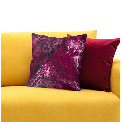 Infatuation Throw Pillow Size: 14 H x 14 W x 1.5 D