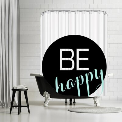 Behappy Shower Curtain