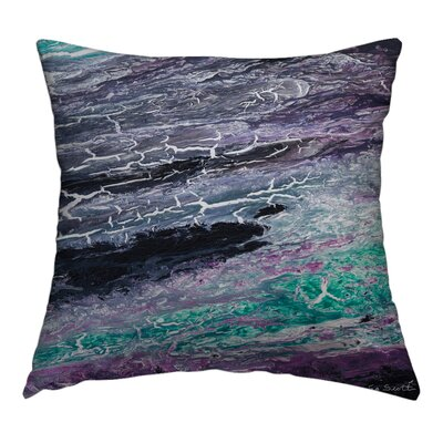 Beyond the Darkness Throw Pillow Size: 14 H x 14 W x 1.5 D
