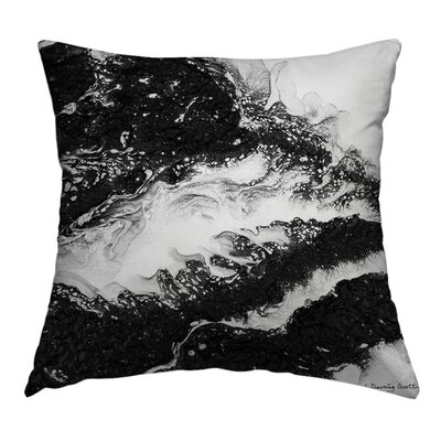 Fearless Throw Pillow Size: 14 H x 14 W x 1.5 D
