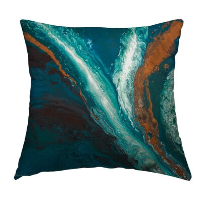 Evolving Throw Pillow Size: 14 H x 14 W x 1.5 D