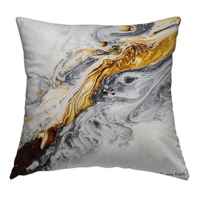 Fortune Throw Pillow Size: 20 H x 20 W x 1.5 D
