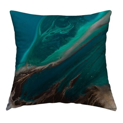 Beauty Runs Deep Throw Pillow Size: 16 H x 16 W x 1.5 D