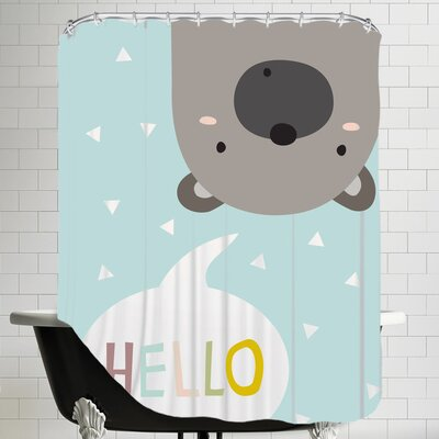 Bearmint Shower Curtain