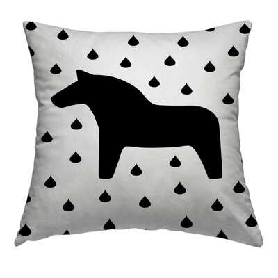 Dala Throw Pillow Size: 18 H x 18 W x 1.5 D