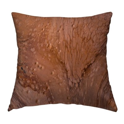 Strata Throw Pillow Size: 18 H x 18 W x 1.5 D