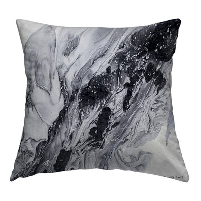 Drift Away Throw Pillow Size: 14 H x 14 W x 1.5 D