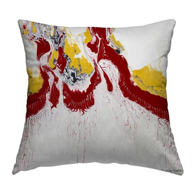 Freedom Throw Pillow Size: 14 H x 14 W x 1.5 D