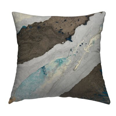 Evolved Throw Pillow Size: 18 H x 18 W x 1.5 D