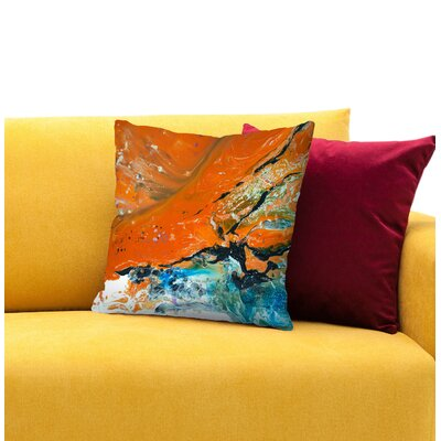 Nightfall Throw Pillow Size: 14 H x 14 W x 1.5 D