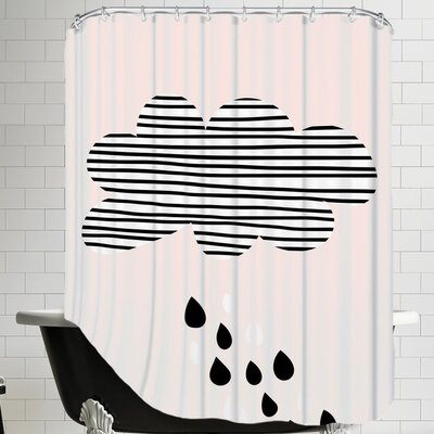 Cloudpink Shower Curtain