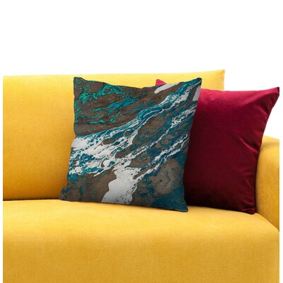 Liberation Throw Pillow Size: 16 H x 16 W x 1.5 D
