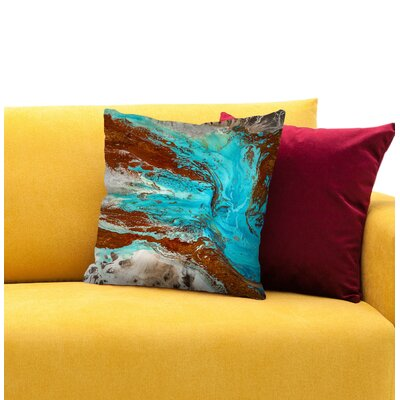 The Narrows Throw Pillow Size: 18 H x 18 W x 1.5 D