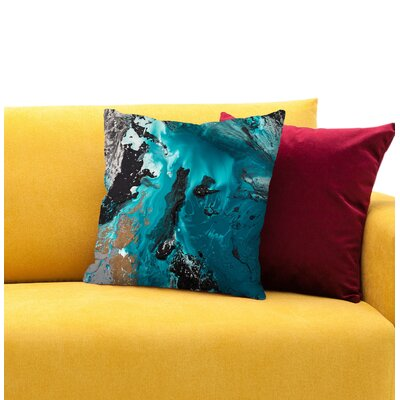 Surrender Throw Pillow Size: 14 H x 14 W x 1.5 D