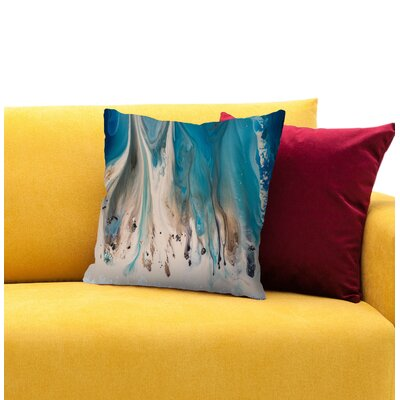 The Shore Beckons 1 Throw Pillow Size: 16 H x 16 W x 1.5 D