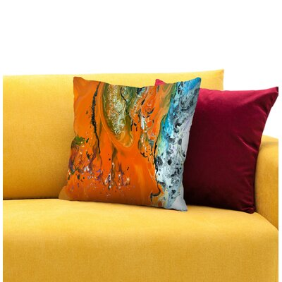 The Day Awaits Throw Pillow Size: 14 H x 14 W x 1.5 D