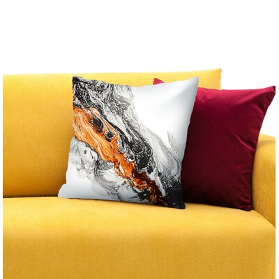 Strength Throw Pillow Size: 14 H x 14 W x 1.5 D