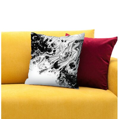 The Journey 3 Throw Pillow Size: 14 H x 14 W x 1.5 D
