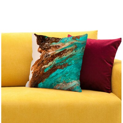 Letting Go 1 Throw Pillow Size: 16 H x 16 W x 1.5 D