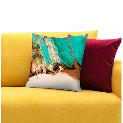 Letting Go 2 Throw Pillow Size: 16 H x 16 W x 1.5 D