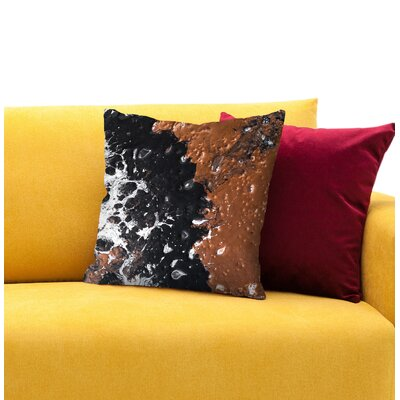 Pinto Throw Pillow Size: 18 H x 18 W x 1.5 D