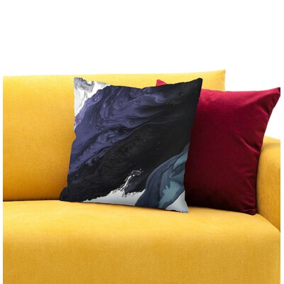 Rain Throw Pillow Size: 18 H x 18 W x 1.5 D