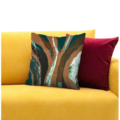 Standing Tall Throw Pillow Size: 16 H x 16 W x 1.5 D
