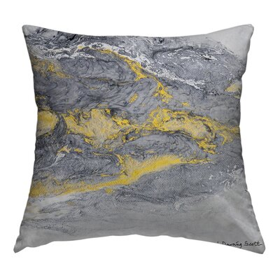 Shine Thru Throw Pillow Size: 18 H x 18 W x 1.5 D